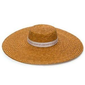 OFF-WHITE, STRAW HAT, Off-White c/o Virgil Abloh.